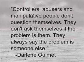controllers-abusers-manipulative-people-Darlene Ouimet