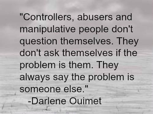 controllers-abusers-manipulative-people-Darlene Ouimet