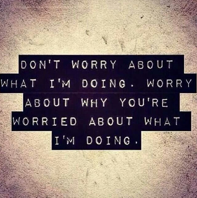worry about worry