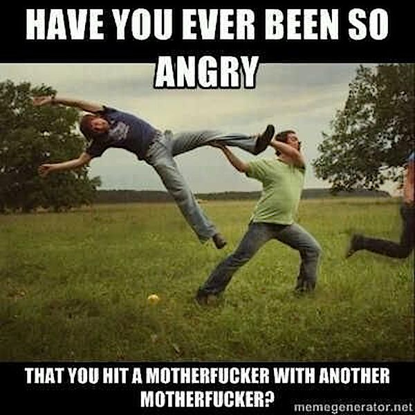 Extreme anger sports