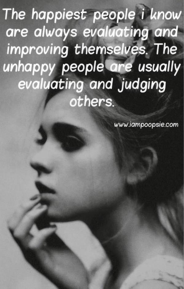 happy people versus unhappy people