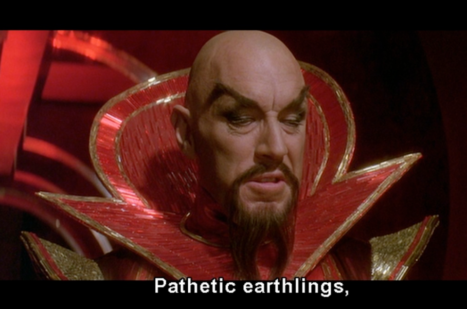Ming the Merciless - Flash Gordon