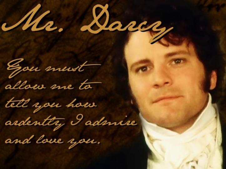 Mr. Darcy... colin firth