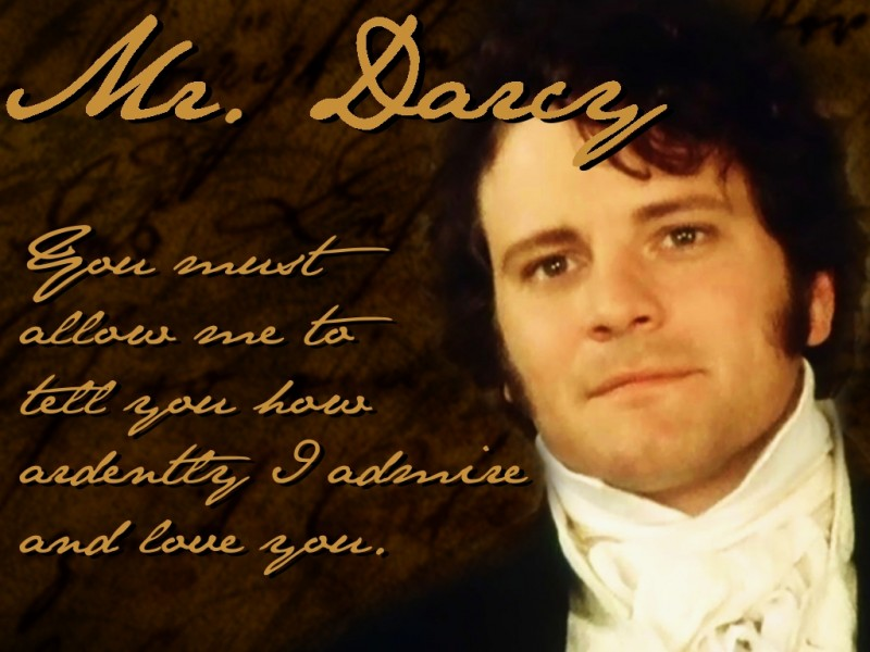 Mr. Darcy... colin firth