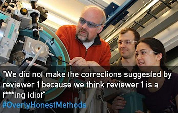 Overly honest scientific methods