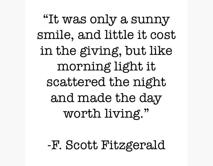 Smiling love - fitzgerald