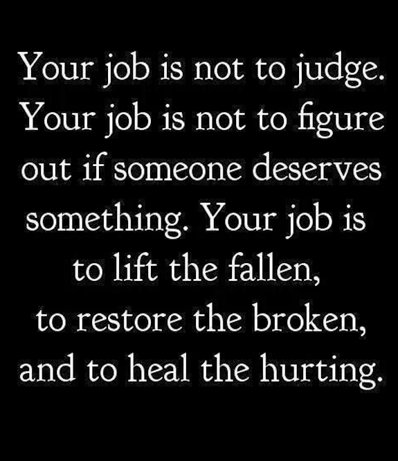 Your job according to a narcissist