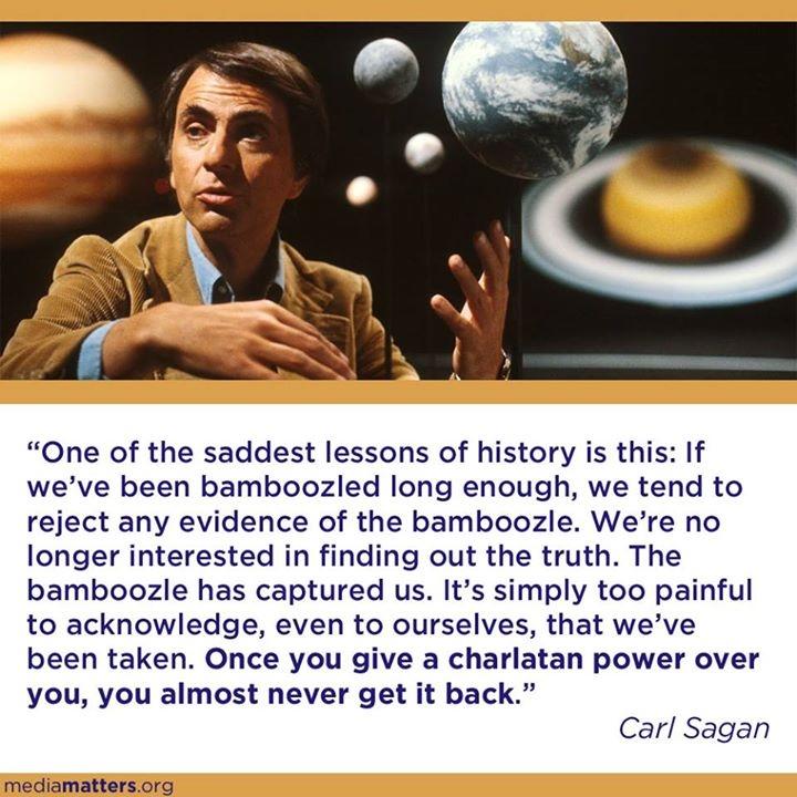 Carl Sagan - Bamboozle