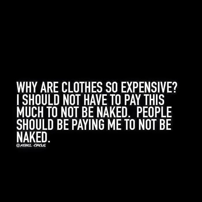 clothes - the naked truth