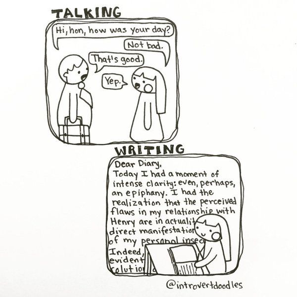 dear diary...by introvert doodles