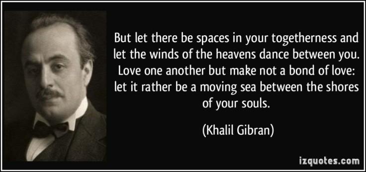Khalil Gibran - spaces