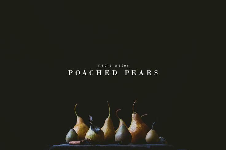 poached pears - bettysliu