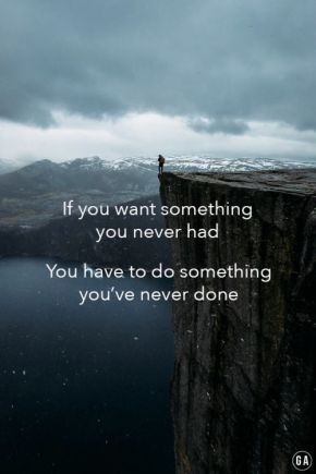 something you've never done