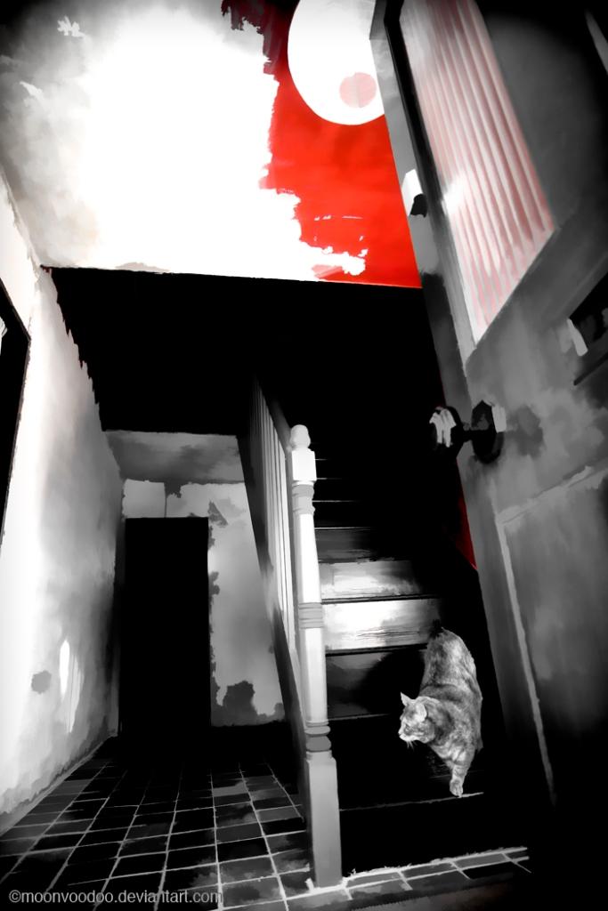 Hallway stripping