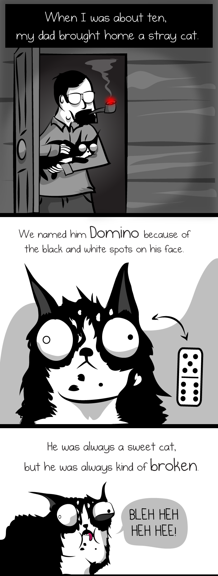 The Oatmeal - Domino's Story