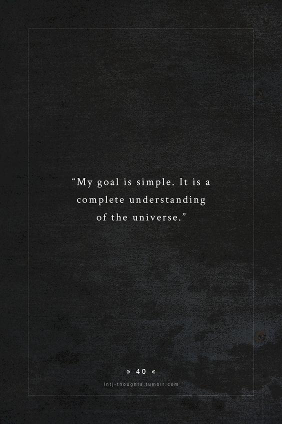 a simple goal