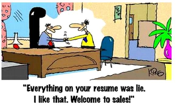 welcome to sales!