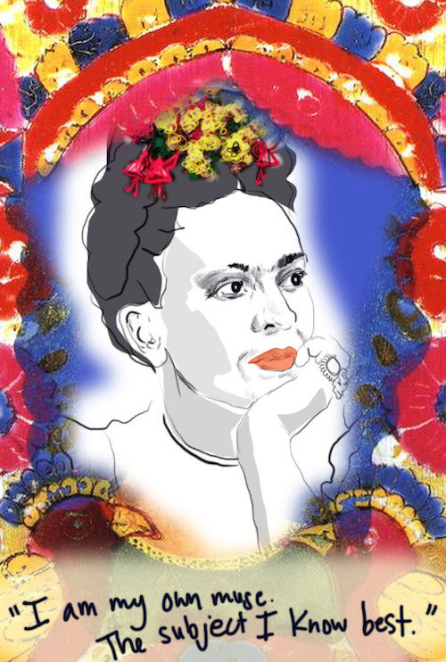 your muse - Frida Kahlo