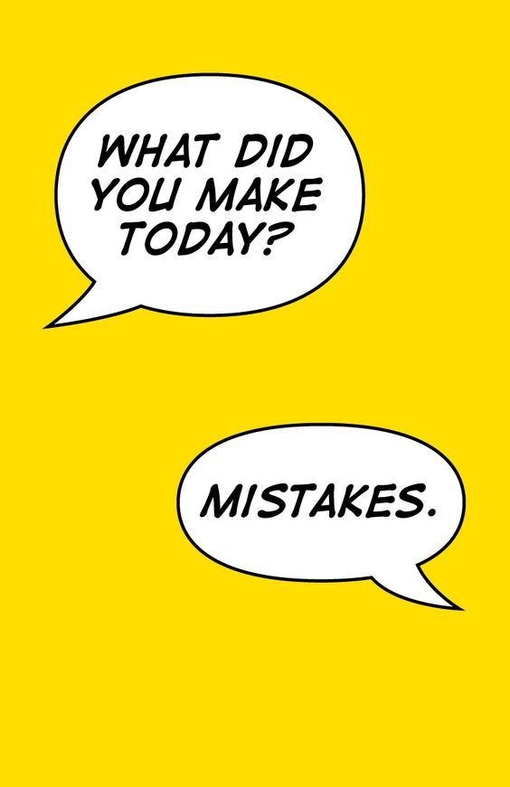 mistakes made