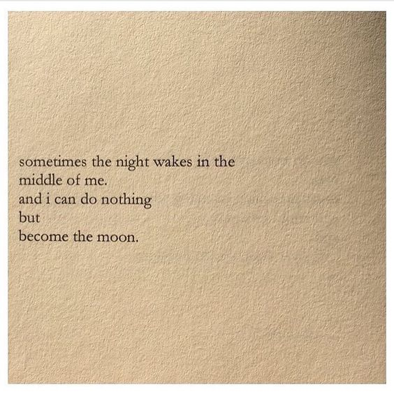 become the moon