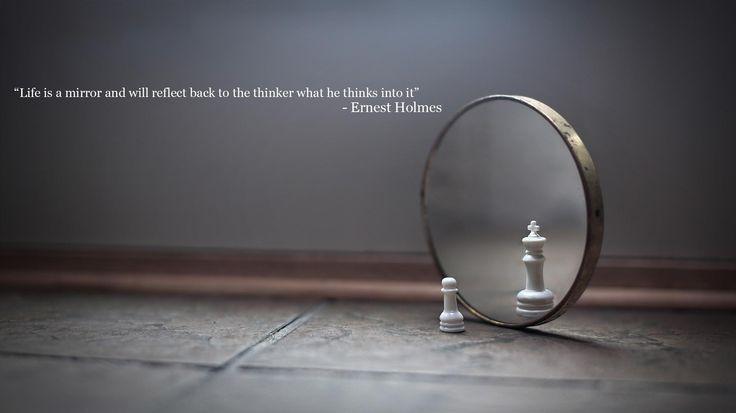 Ernest Holmes - mirror