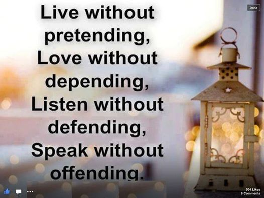 live without...