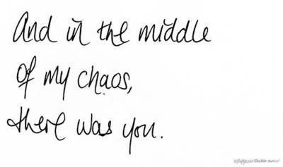 middle of chaos