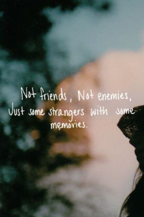 not friends, not enemies