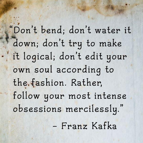 obsession - kafka