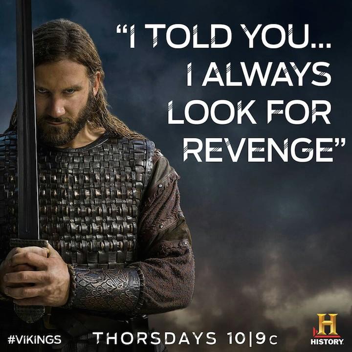 revenge - vikings