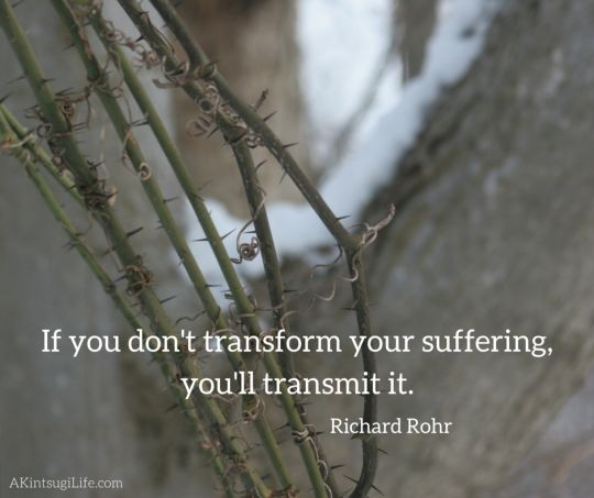 transform or transmit suffering