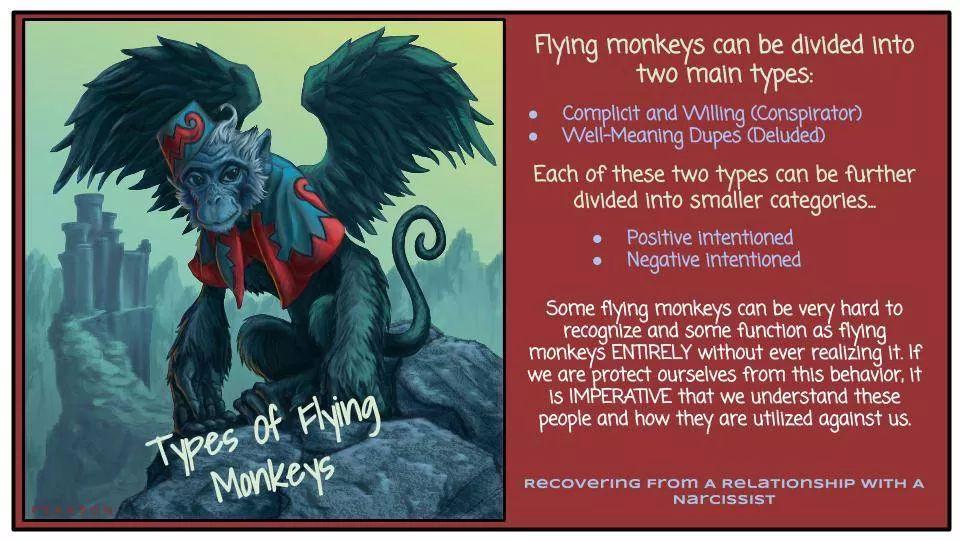flying monkey types