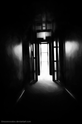 light at the end of the hallway