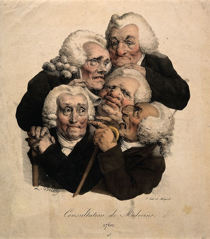 Five decrepit doctors - Francois Delpech