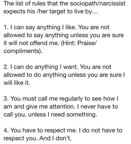 narc social rules