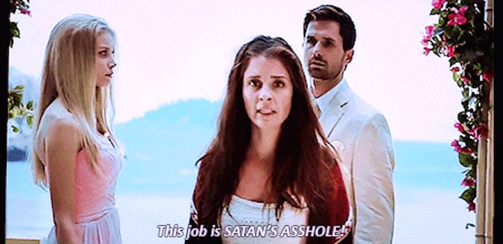 satan's a-hole job