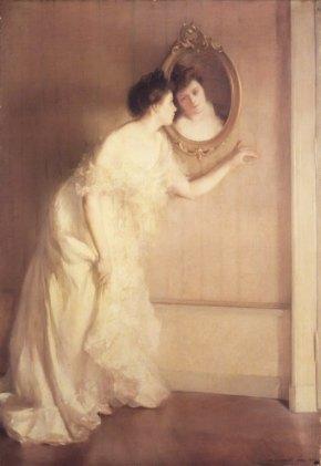 Un Regard Fugitif - Mary Shepard Greene Blumenschein