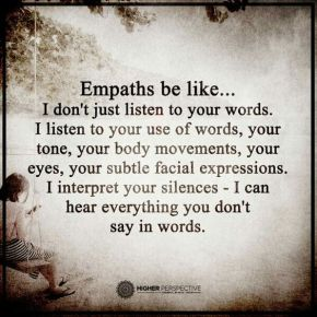 Empaths be like...