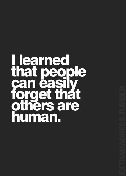 forgetting-others-are-human