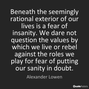 alexander-lowen-fear-of-insanity