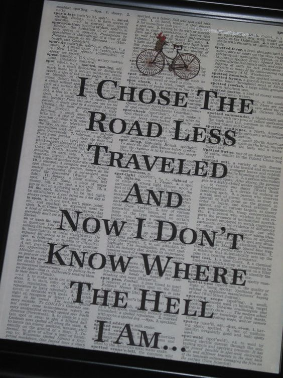 the-problem-with-the-road-less-traveled