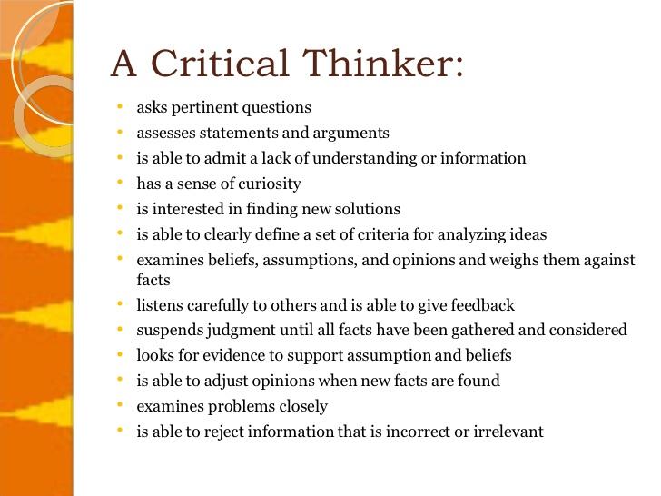 critical-thinker
