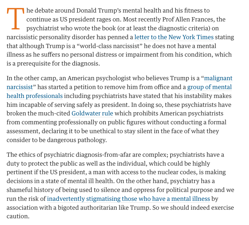 is-trump-a-narcissist-the-guardian